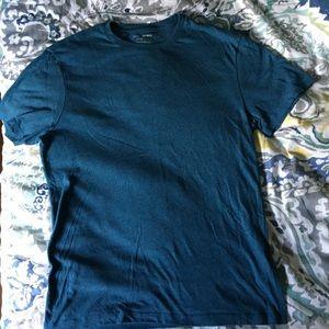 Banana Republic blue fitted crew T-shirt Sz S